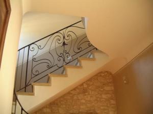 Escalier en pierre de St Gens